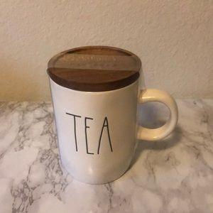 Rae Dunn Tea Mug with Lid